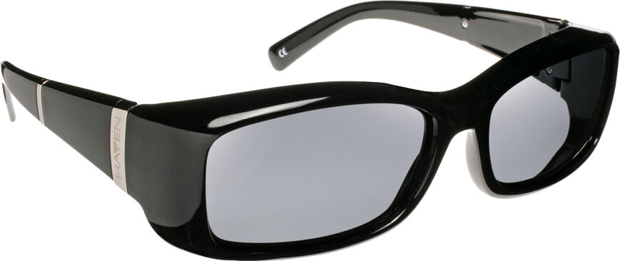 Freesia - Black Bar Frame, Gray Lens