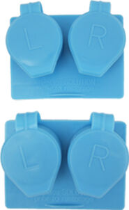 Twin Pack Contact Lens Case