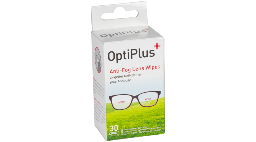Optiplus Antifog Dispensing Replenishment Prepack 30Ct