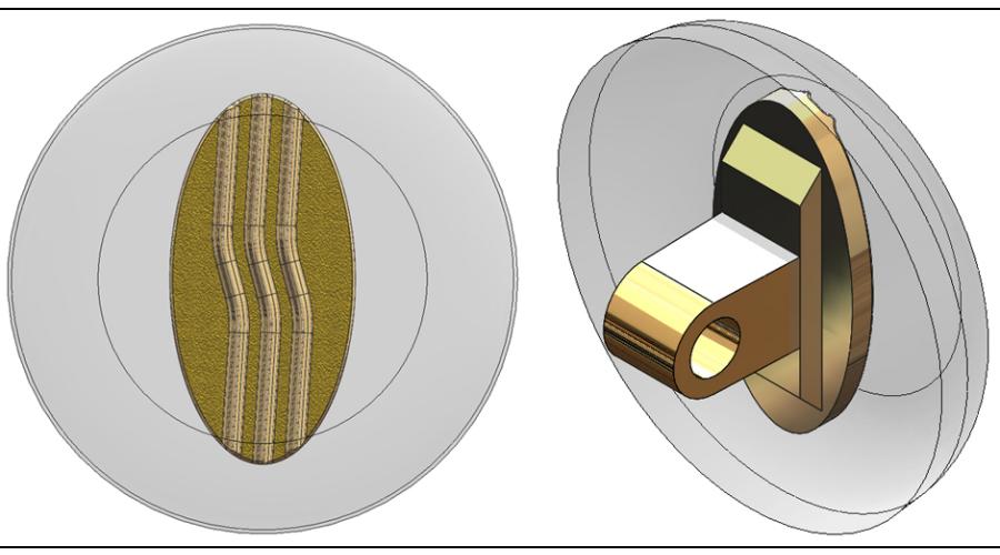 9mm, Round, Gold - 5 Pair