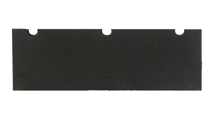 Aluminum Bench Block Rubber Replacement Pad