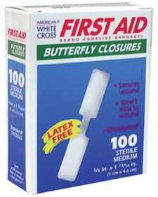 Butterfly Adhesive Bandage Closures