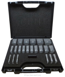 22-Prism Block Set w/ Polymer Case