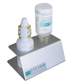 Gonioscopic Solution Holder, Brushed Aluminum