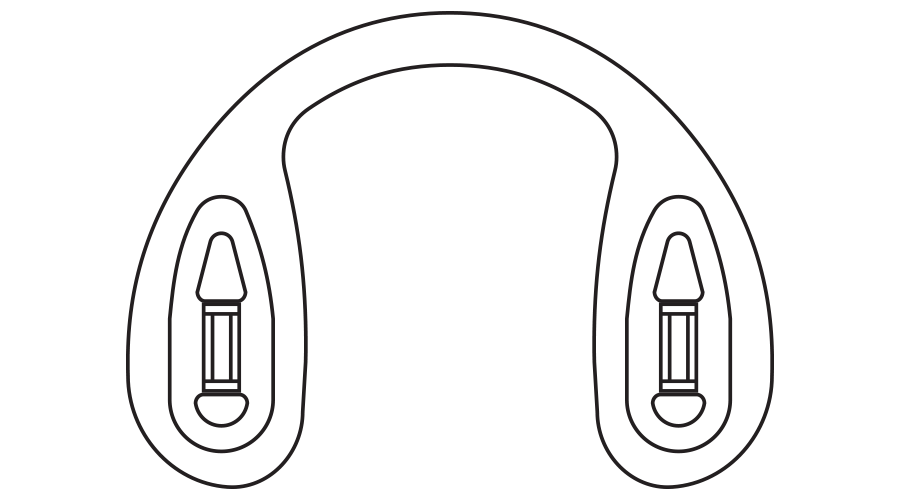 LOGIC STRAP BRIDGE, MEDUIM, 40 PC