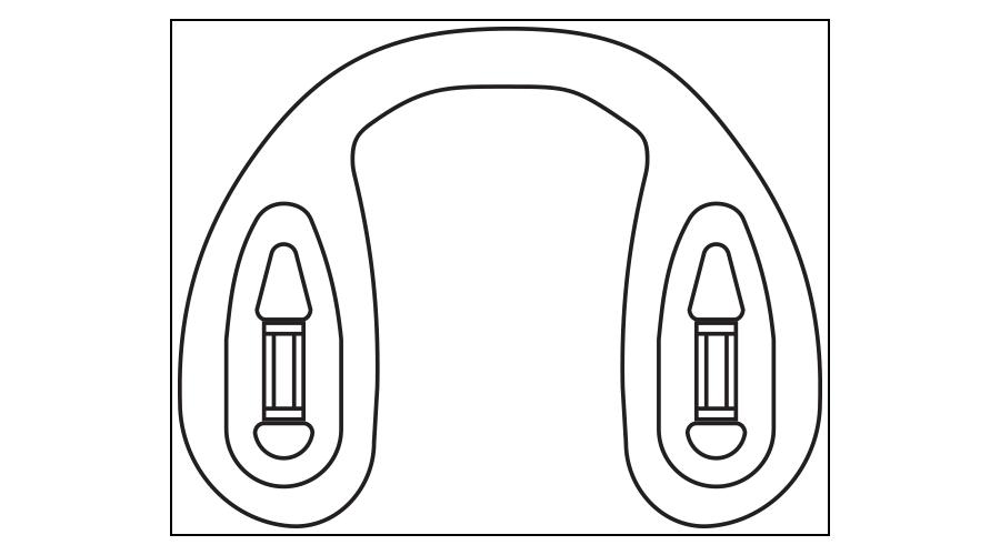 LOGIC STRAP BRIDGE, SMALL, 40 PC