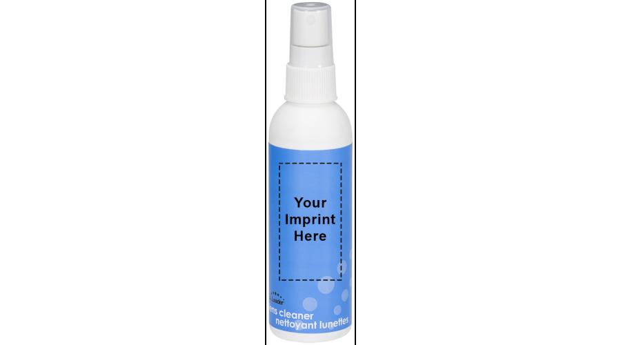 2 oz. White Bottle, White Pump - Label - Imprint
