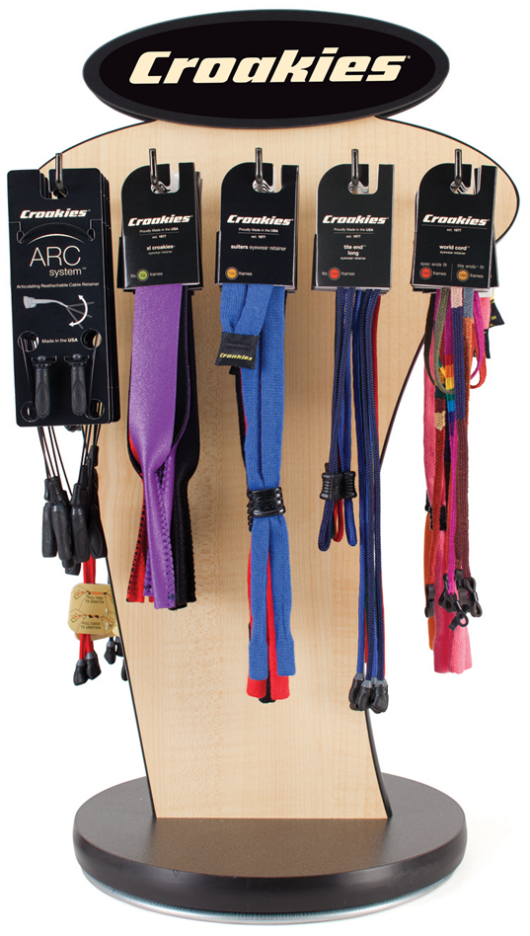 Croakies 2 Sided Sport Display Package