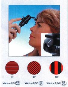 3.5V Heine Lambda 100® Retinometer