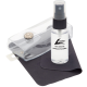 Classic Kit, Silk Screen Clear Bottle with Black Pump, White Cloth