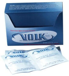 Volk® Precision Optical Lens Cleaner Towelettes