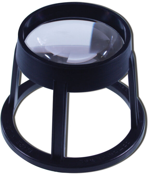 60mm Round Stand, 5x Magnification
