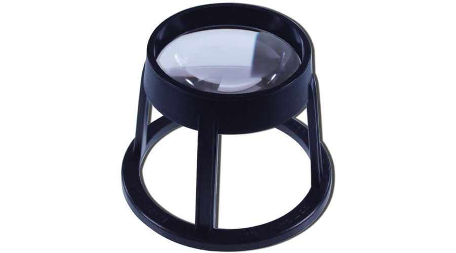 ASPHERIC STAND MAGNIFIER 60MM ROUND 5X