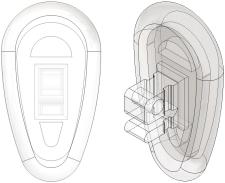 Logic® 2.0 Nose Pads Silicone