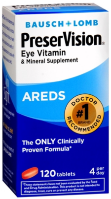 B+L PreserVision AREDS Tablets