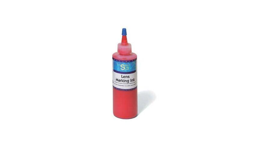 Lens Marking Ink, Red 4 oz.