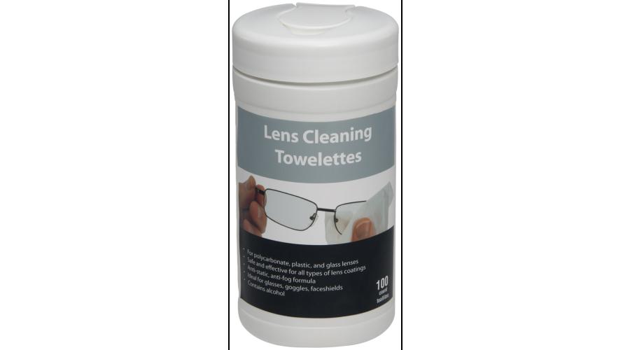 Lens Wipes 100 Ct Dispenser Case of 12