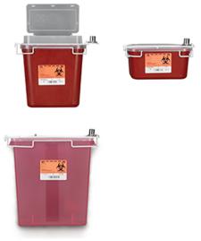 Locking Bracket for Sharps Container