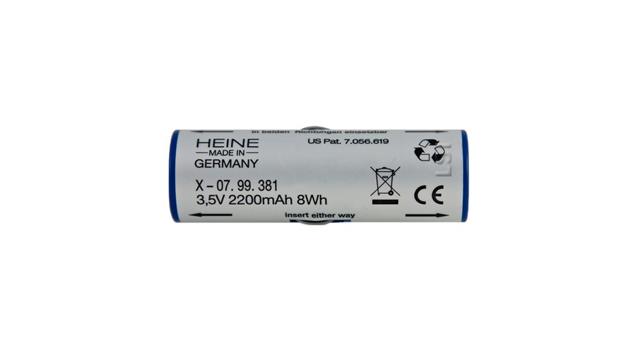Replacement Battery for Heine Beta NT Rechargeable Lithium Ion Handle