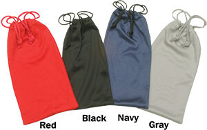 Red Microfiber Pouch