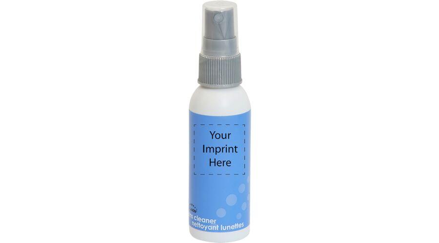 2 oz. White Bottle, Gray Pump - Label - Imprint