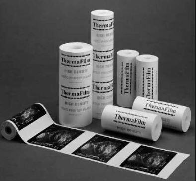 High Gloss Video Printer Paper 110 x 45mm High Density, (Requires Serrated Tear-Off Bar)