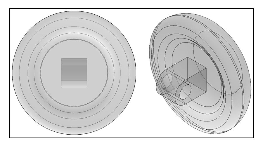9mm, Round, Screw-On - 3 Pair