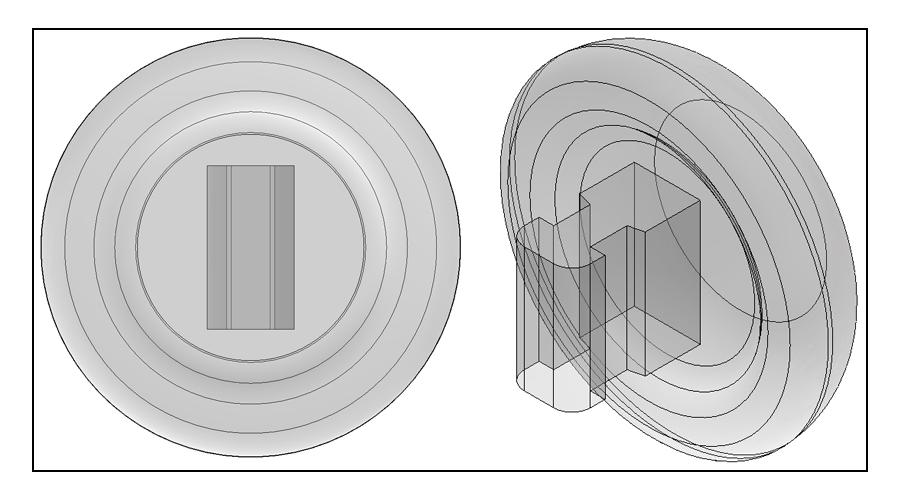9mm, Round, Push-On - 3 Pair