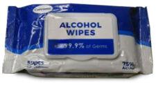 Hand Sanitizing 75% Alcohol Wipes