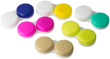 Screw-Top Contact Lens Cases
