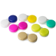 Screw-Top Contact Lens Cases, Assorted Colors, Bag/100