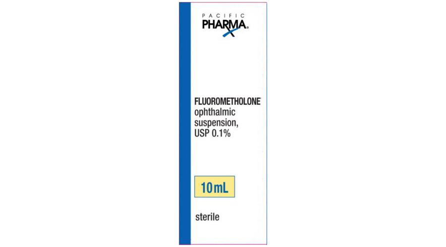 FLUOROMETHOLONE 0.1% OPH SUSPENSION 10 ML NDC 60758-880-10