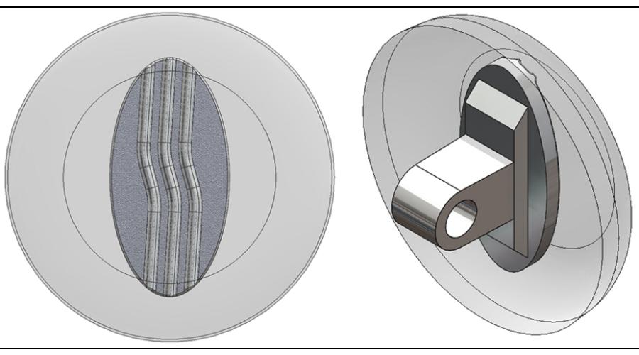 11mm, Round, Silver - 5 Pair