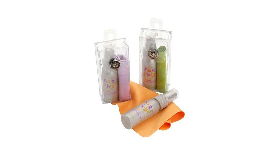 Kids' Lens Care Kit, Tangerine