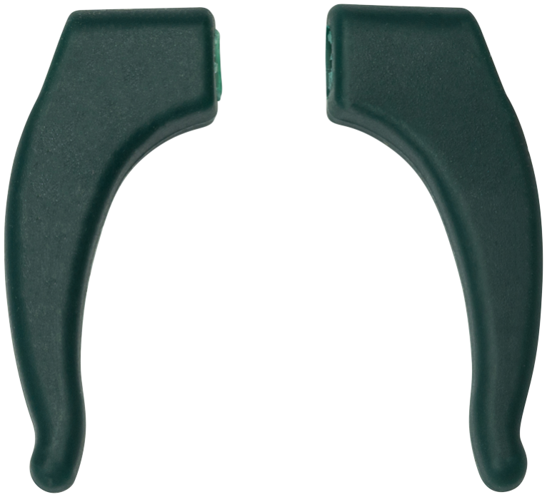 Spare Milo & Me Ear Hooks, Dark Green