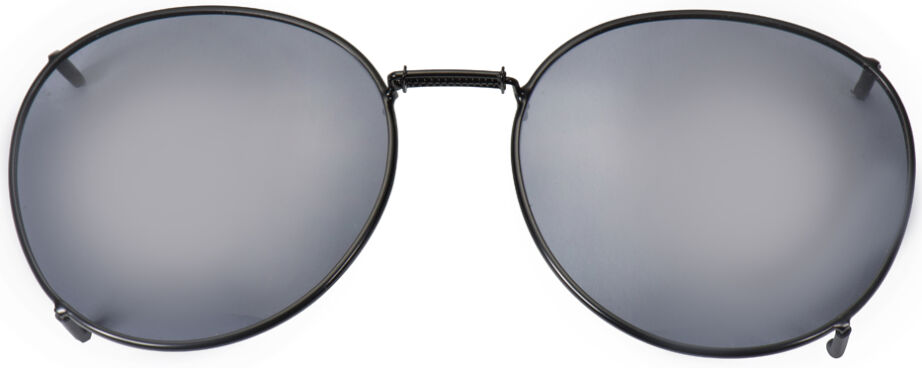 Glide-Fit SunClip, Round - 52mm, Black frame, Gray lens