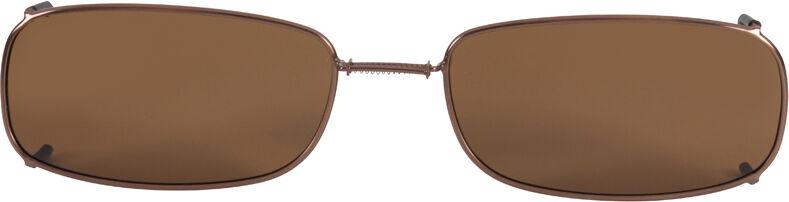 Glide-Fit SunClip, Low Rectangle - 58mm, Bronze frame, Driver lens