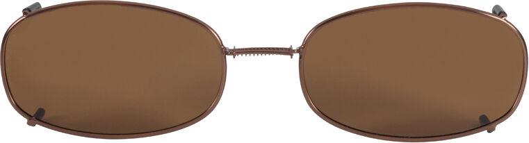 Glide-Fit SunClip, Oblong - 54mm, Bronze frame, Driver lens