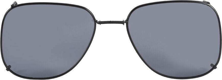 Glide-Fit SunClip, Square - 58mm, Black frame, Gray lens
