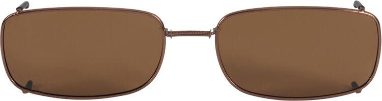Glide-Fit SunClip, Narrow Rectangle - 58mm, Bronze frame, Driver lens