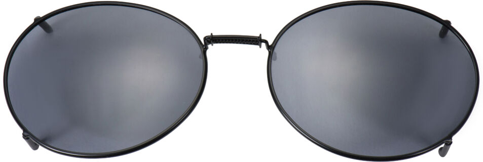 Glide-Fit SunClip, Oval - 54mm, Black frame, Gray lens