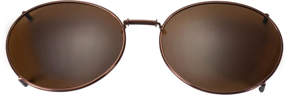 Glide-Fit SunClip, Oval - 54mm, Bronze frame, Driver lens
