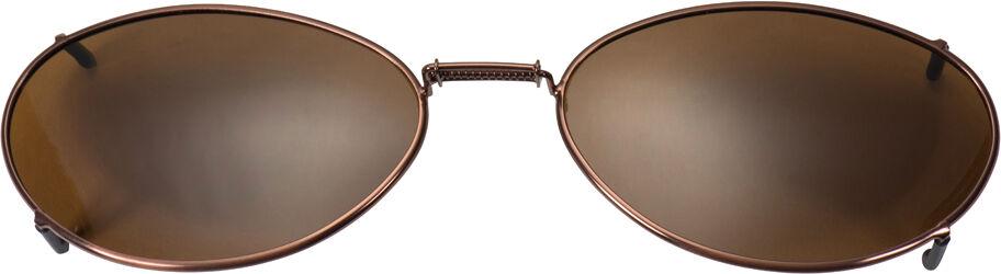 Glide-Fit SunClip, Ellipse - 54mm, Bronze frame, Driver lens
