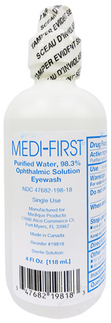 Medi-First Eye Wash 4Oz Sol Screw-Cap