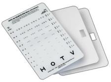HOTV Crowded Near Vision Card