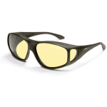 Night Driver - XL Tapered Square, Black frame / Yellow lens