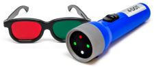 Worth Four Dot Flashlight & Goggle