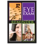 Postcard Stock Designs: Eye Exam Reminder