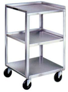 Lakeside Stainless Steel Carts - Three Shelves