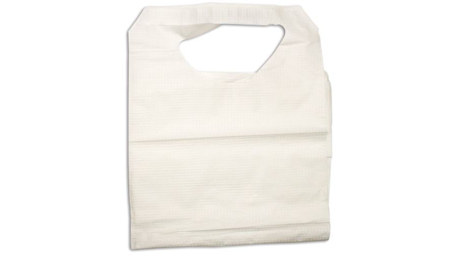 "Dynarex Lap Bib 16"" X 33"", With Ties 300/case"